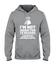 I'm not addicted High Quality Classic Tee Hooded Sweatshirt thumbnail