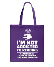 I'm not addicted High Quality Classic Tee Tote Bag thumbnail