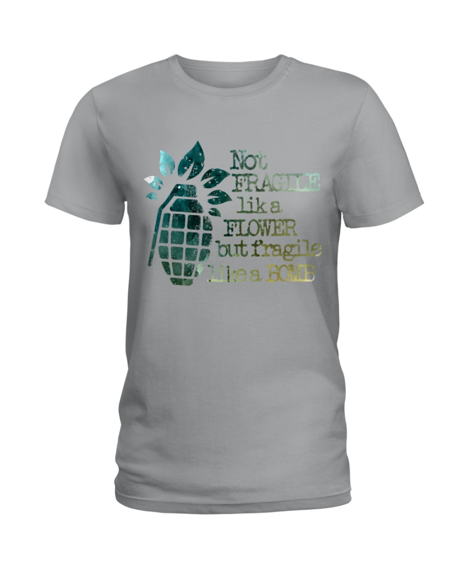 Not Fragile High Quality Classic Tee Ladies T-Shirt