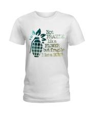 Not Fragile High Quality Classic Tee Ladies T-Shirt thumbnail
