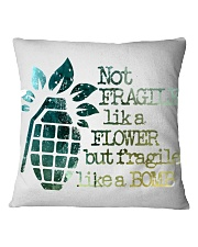 Not Fragile High Quality Classic Tee Square Pillowcase thumbnail