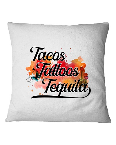Tacos Tattoos Tequila High Quality Classic Tee