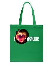 I Love Dragons High Quality Classic Tee Tote Bag thumbnail