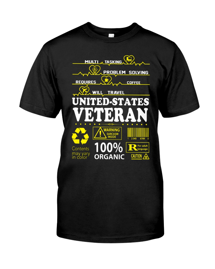 CLOTHES UNITED STATES VETERAN Classic T-Shirt