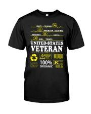 CLOTHES UNITED STATES VETERAN Premium Fit Mens Tee thumbnail