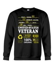 CLOTHES UNITED STATES VETERAN Crewneck Sweatshirt thumbnail