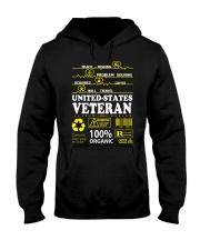 CLOTHES UNITED STATES VETERAN Hooded Sweatshirt thumbnail