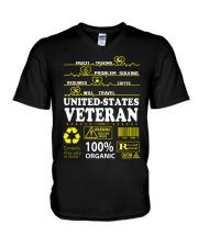 CLOTHES UNITED STATES VETERAN V-Neck T-Shirt thumbnail