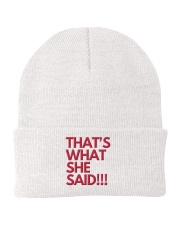 THAT S WHAT SHE SAID Knit Beanie thumbnail
