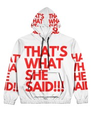 THAT S WHAT SHE SAID Women's All Over Print Hoodie thumbnail
