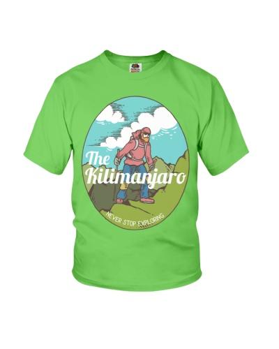 The kilimanjaro climb the mountain