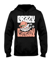 Crazy Cat Lady T-shirt Cute Kitten Gift Hooded Sweatshirt thumbnail
