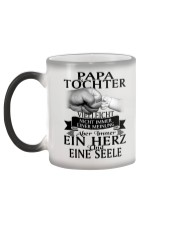 Papa Tochter Color Changing Mug color-changing-left