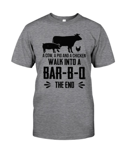 WALK IN TO A BAR-B-Q