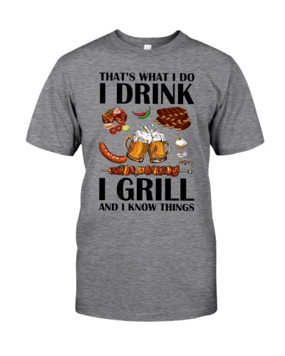 DRINK GRILL KNOW THINGS