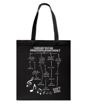 MUSIC PRACTICE Tote Bag thumbnail