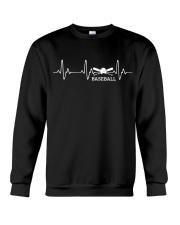 BASEBALL HEARTBEAT Crewneck Sweatshirt thumbnail