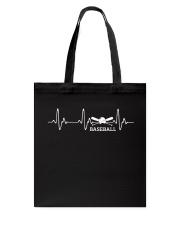 BASEBALL HEARTBEAT Tote Bag thumbnail