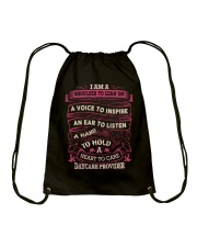 DAYCARE PROVIDER - A HEART TO CARE Drawstring Bag thumbnail