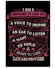 DAYCARE PROVIDER - A HEART TO CARE 11x17 Poster thumbnail