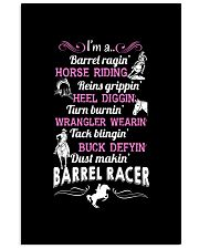 DUST MAKING BARREL RACER 11x17 Poster thumbnail