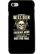 YES I'M A WELDER Phone Case thumbnail