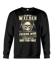 YES I'M A WELDER Crewneck Sweatshirt thumbnail