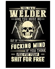 YES I'M A WELDER 11x17 Poster thumbnail