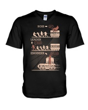 ENGINEERS BUSINESS V-Neck T-Shirt thumbnail