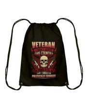 VETERAN SERVICE Drawstring Bag thumbnail