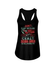 CRAZY SCUBA DIVER Ladies Flowy Tank thumbnail