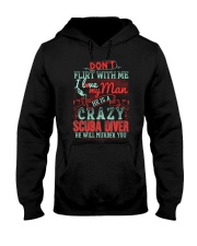 CRAZY SCUBA DIVER Hooded Sweatshirt thumbnail