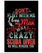CRAZY SCUBA DIVER 11x17 Poster thumbnail