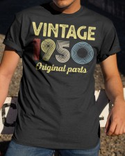 70th Birthday Gift T-Shirt - Retro Birthday Classic T-Shirt apparel-classic-tshirt-lifestyle-28