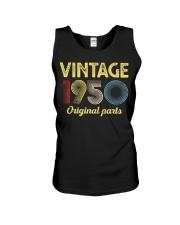 70th Birthday Gift T-Shirt - Retro Birthday Unisex Tank tile
