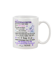 To my Granddaughter from Nonie Mug front