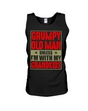 GRUMPY OLD MAN  Unisex Tank tile