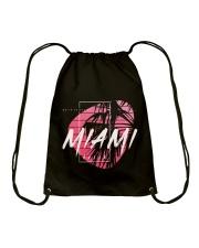 Miami City Drawstring Bag tile