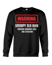 WARNING GRUMPY OLD MAN Crewneck Sweatshirt tile