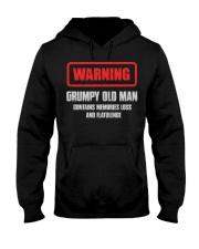 WARNING GRUMPY OLD MAN Hooded Sweatshirt tile