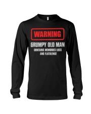WARNING GRUMPY OLD MAN Long Sleeve Tee tile