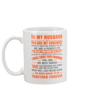 TO MY HUSBAND MUG Mug back
