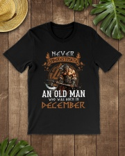 Never Underestimate December Old Man Classic T-Shirt lifestyle-mens-crewneck-front-18