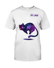 BEST CAT MOM IN THE GALAXY Classic T-Shirt front