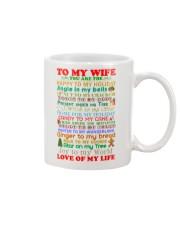 Christmas for Wife Mug front