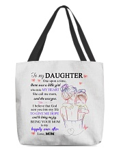 To my daughter from mom All-Over Tote tile