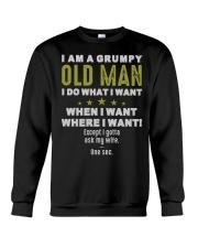 I AM A GRUMPY OLD MAN Crewneck Sweatshirt tile