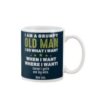 I AM A GRUMPY OLD MAN Mug tile