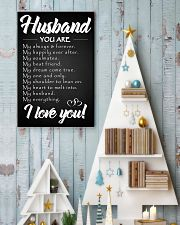 To my Husband 16x24 Poster lifestyle-holiday-poster-2