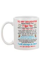 TO MY DAUGHTER Mug back
